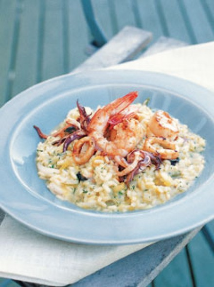 Seafood risotto - Recipes - Marie Claire