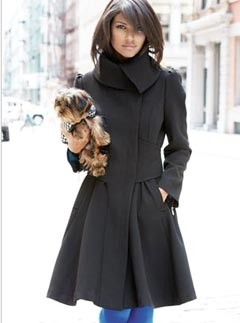 Next Black Fitted Coat