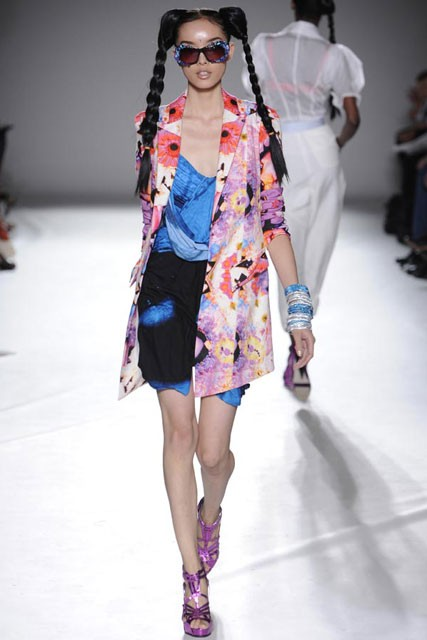 Nathan Jenden S/S 2010 - London Fashion Week - Marie Claire
