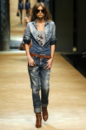 D&G S/S 2010, Milan Fashion Week