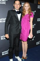 Lily Cole &amp; Enrique Murciano - Celebrity Photos - 2 October 2009