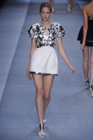 Karl Lagerfeld Spring/Summer 2010 - Paris Fashion Week - Marie Claire