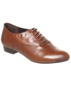 Office tan leather brogues