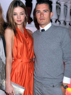 Miranda Kerr and Orlando Bloom - Celebrity News - Marie Claire