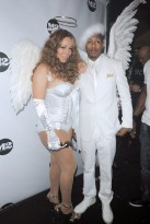 Mariah Carey with Nick Cannon - Celebrity Photos - 2 November 2009