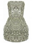 Miss Guided tulip sequin dress