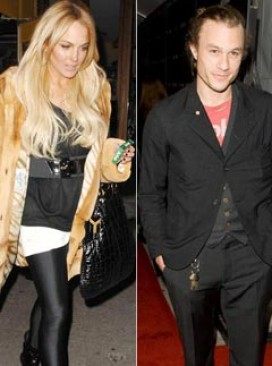 Lidsay Lohan and Heath Ledger, Celebrity News, Celebrity Photos