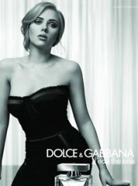 Scarlett Johansson for D&G The One