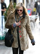 Fearne Cotton in leopard print