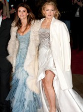 Penelope Cruz and Kate Hudson - Nine Premiere - Fashion News - Marie Claire