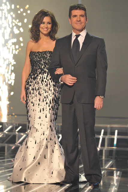 Cheryl Cole-and-Simon Cowell-X Factor Final Photos-Celebrity Photos-13 December 2009