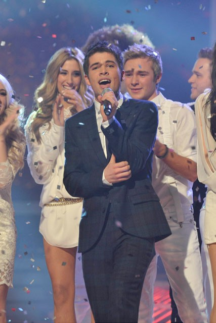 Joe McElderry-X Factor Final Photos-Celebrity Photos-13 December 2009