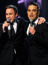 Robbie Williams and Olly Murs, X Factor Final, Celebrity Photos, Celebrity News