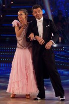 Chris-Hollins-and-Ola-Jordan-Strictly come dancing-Celebrity photos-21 December 2009