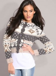 Mango Argyle Knit Wool Mix Cardigan - Fashion Buy of the Day - Marie Claire