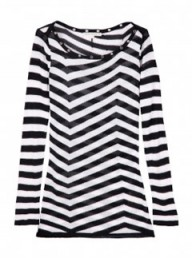 Twenty8Twelve multicoloured blane striped eyelet top - Fashion Buy of the Day