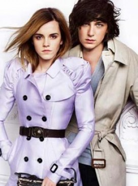 Emma Watson for Burberry spring/summer 2010