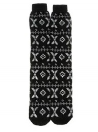 Topshop SNO Jaquard Ski Socks