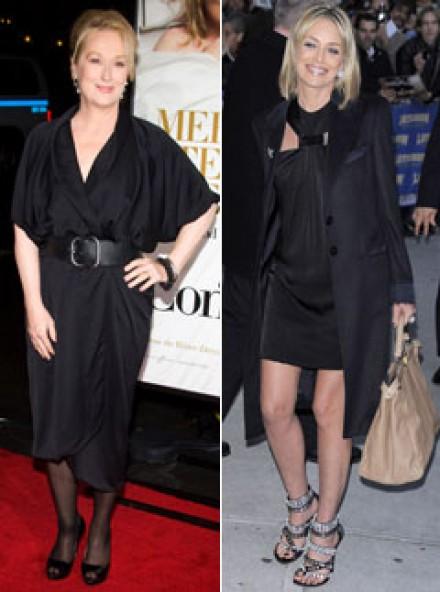 Meryl Streep, Sharon Stone - Celebrity News - Marie Claire
