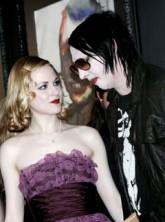Evan Rachel Wood and Marilyn Manson - Celebnrity News - Marie Claire