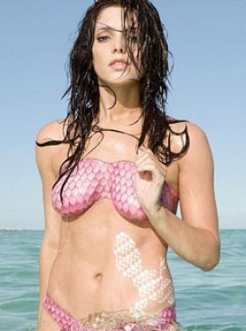 Ashley Greene strips for Sobe campaign