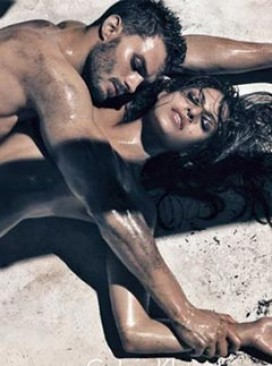Eva Mendes and Jamie Dornan for Calvin Klein Jeans - spring/summer 2010