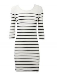 Oasis Breton Stripe Dress