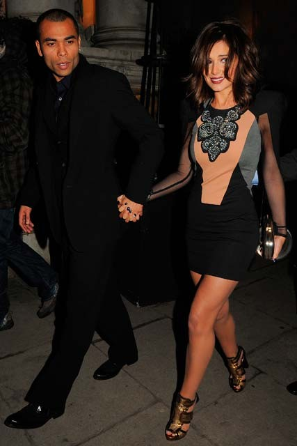 Cheryl-Cole-and-Ashley-Cole-Gary Barlow&#039;s 10th Wedding Anniversary Party-Celebrity Photos-13 January 2010