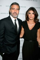 George-Clooney and Elisabetta Canalis-Celebrity Photos-13 January 2010