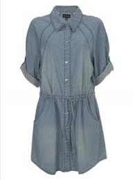 Warehouse oversized shirt dress