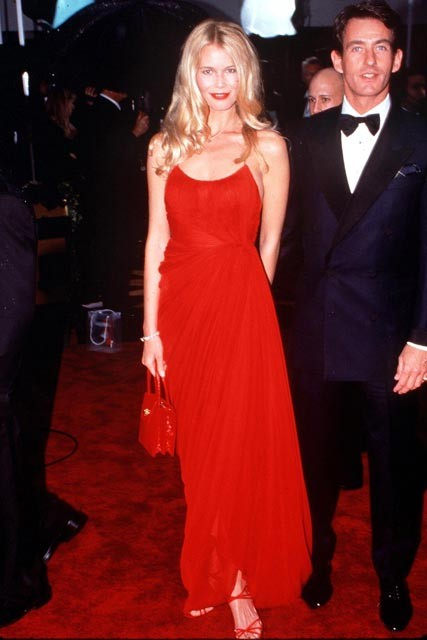 Claudia Schiffer: Best Golden Globe dreses of all time
