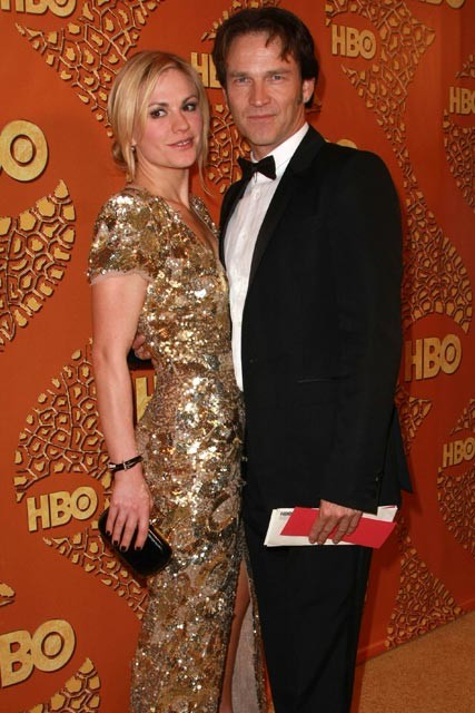 Anna Paquin and Stephen Moyer at the Golden Globe 2010 After-party