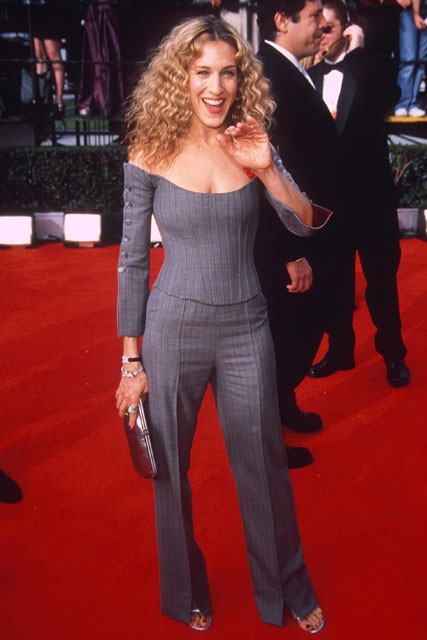 Sarah Jessica Parker - SAG Awards Worst Dressed - Fashion - Marie Claire