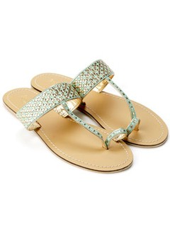 Accessorize woven sandals