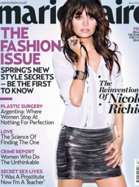 March Cover 2010, Nicole Richie