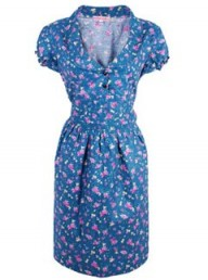 Trollied Dolly Floral Tea Dress