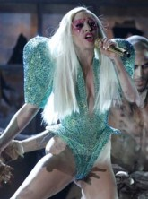 Lady Gaga at the 2010 Grammy Awards