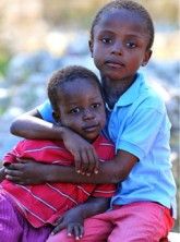 Haiti children - Marie Claire