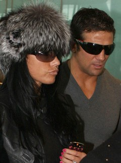 Katie Price and Alex Reid - celebrity news