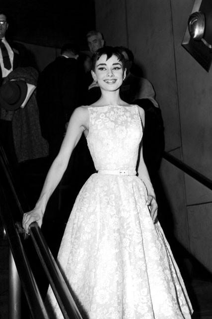 Audrey Hepburn - 50 Best Oscar Dresses - Marie Claire