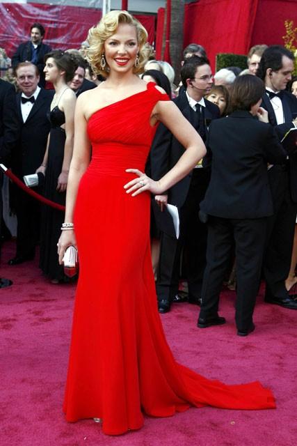 Katherine Heigl - 50 Best Oscar Dresses - Marie Claire