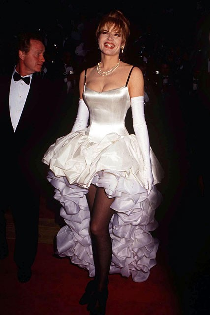 Geena Davis - Worst Oscars dresses of all time - Marie Claire