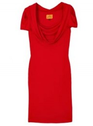 Vivienne Westwood Anglomania Red Scoop Dress