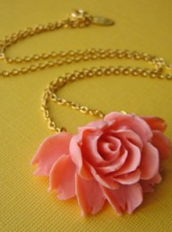 Eclectic Eccentricity You Make Me Blush necklace - Fashion Buy of the Day - Marie Claire