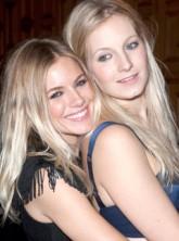 Savannah and Sienna Miller at London fashion week - Twenty8Twelve