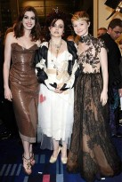 Helena Bonham Carter, Anne Hathaway and Mia Wasikowska : Alice in Wonderland London premiere