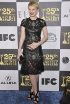 Carey Mulligan at the 25th Annual Film Independent Spirit Awards
