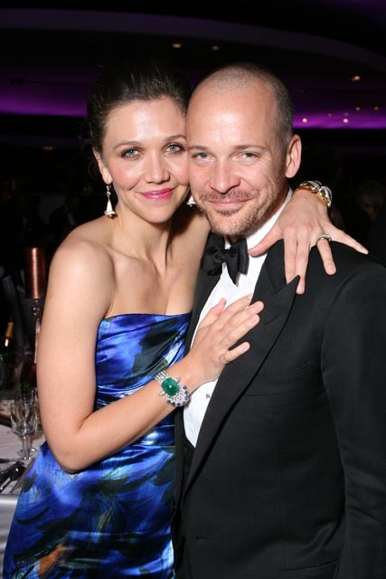 Maggie Gyllenhaal and Peter Sarsgaard at the Governors Ball 2010 Oscars after-parties