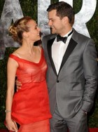 Diane Kruger and Joshua Jackson at the Vanity Fair Oscar after-party
