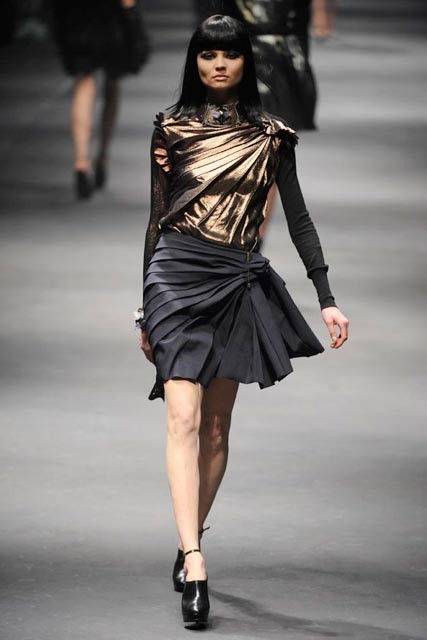 Lanvin Autumn/Winter 2010, Paris Fashion Week